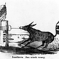 Secession Cartoon, 1861 by Granger