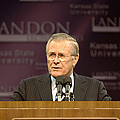 Secretary Of Defense Donald H. Rumsfeld by Stocktrek Images