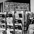 selection of scottish and irish clan history books in a shop in Scotland UK by Joe Fox
