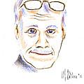 Self-portrait by Kip DeVore