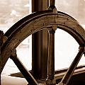 Sepia Wheel by Holly Blunkall