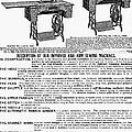 Sewing Machine Ad, 1895 by Granger