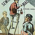 Sewing Machine Trade Card by Granger