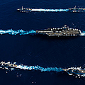 Ships From The John C. Stennis Carrier by Stocktrek Images