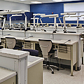 Shot Of Room In Dental School by Skip Nall