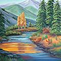 Sierra Creek by Don Monahan