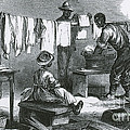Slaves In Union Camp by Photo Researchers