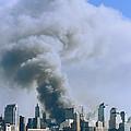 Smoke Billows Over Manhattan by Steve Winter