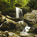 Smoky Mountain Waterfall by Andrew Soundarajan