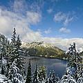 Snow Lake Vista by Mike Reid