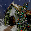 Snowy Christmas Eve by Bonnie Willis