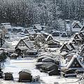 Snowy Village by Kean Poh Chua