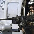 Soldier Mans A .50 Caliber Machine Gun by Stocktrek Images