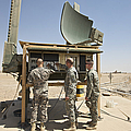 Soldiers Checking A Radar System by Terry Moore