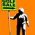 Space Golf Sale by Pixel Chimp