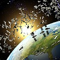 Space Junk, Conceptual Artwork by Roger Harris