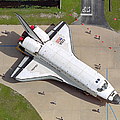 Space Shuttle Atlantis by Stocktrek Images