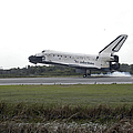 Space Shuttle Discovery Touches by Stocktrek Images