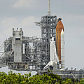 Space Shuttle Endeavour On The Launch by Stocktrek Images