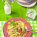 Spaghetti Al Pesto by Joana Kruse