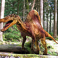 Spinosaurus Dinosaur by Roger Harris