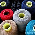 Spools Of Yarn by Yali Shi
