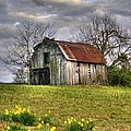 Spring Time Barn by Kevin Pugh