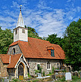 St Laurence Church Cowley Middlesex by Chris Day