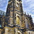 St Vitus Cathedral - Prague by Jon Berghoff