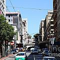 Stockton Street Tunnel In San Francisco by Wingsdomain Art and Photography