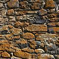 Stone Wall by Bernard Jaubert