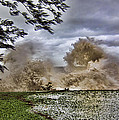 Stormy Seas by Douglas Barnard