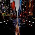 Streets Of New York  by Steve K
