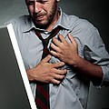 Stress-related Heart Attack by Mauro Fermariello