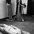 Stripped Saints by Gaspar Avila
