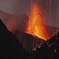 Stromboli Eruption, Aeolian Islands by Martin Rietze