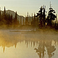 Sunlight On An Alpine Lake by Eric Albright