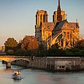 Sunrise Over Notre Dame by Brian Jannsen