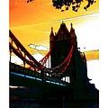 Sunset At Tower Brigde  by Steve K