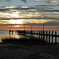 Sunset Cape Charles Virginia by Sven Migot