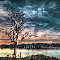 Sunset Over Canebrake by Brenda Bryant