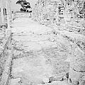 Swimming Pools In The Gymnasium And Baths In The Ancient Site Of Old Roman Villa Salamis by Joe Fox