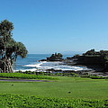 Tanah Lot Temple by Marlene Challis
