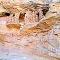 Target - Bulls Eye Anasazi Indian Ruins by Gary Whitton