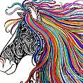 Tattooed Horse by Nick Gustafson