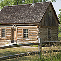Teddy Roosevelt's Maltese Cross Log Cabin by John Stephens