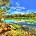 Telaga Warna Lake by MotHaiBaPhoto Prints