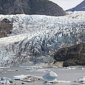 Terminal Moraine And Glacial Lake by Matthias Breiter