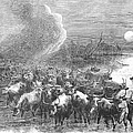 Texas: Cattle Drive, 1867 by Granger