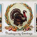 Thanksgiving Card, 1910 by Granger